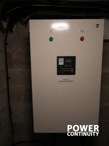 AMF automatic changeover panel