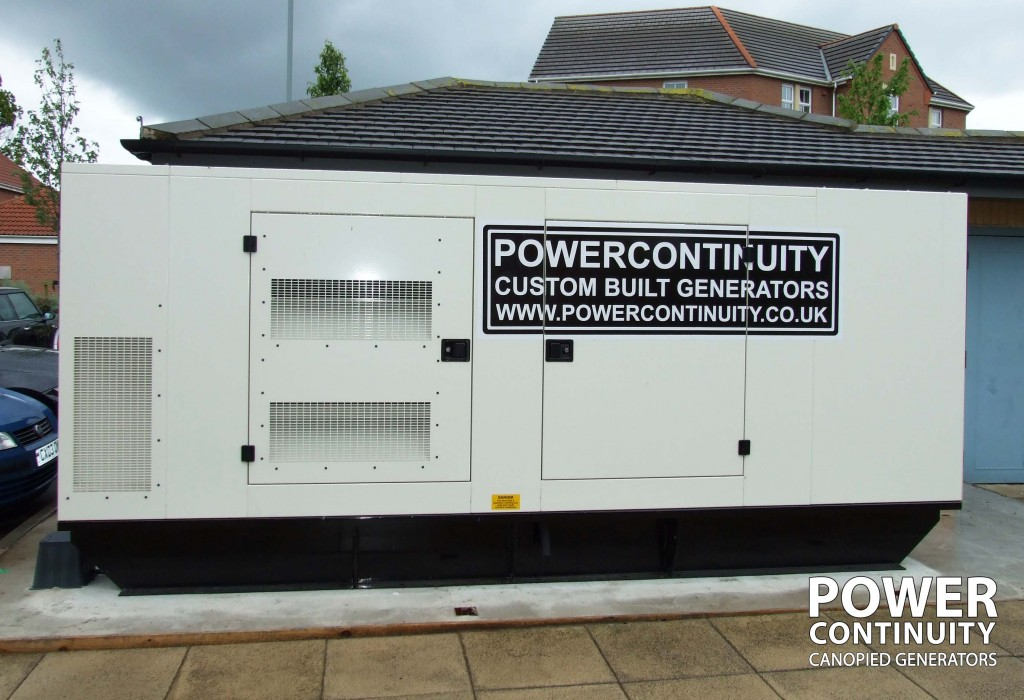 Generator for data centre power protection