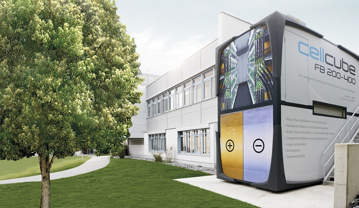 """Cellcube-vanadium flow batteries"