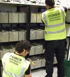 Data Centre Power Continuity UPS battery installation