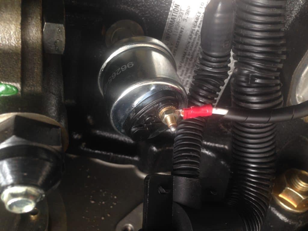 Generator Starts Then Stops Immediately - Coolant Sensor
