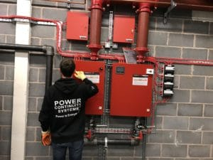 Data Centre Fire Suppression Upgrade Engineer