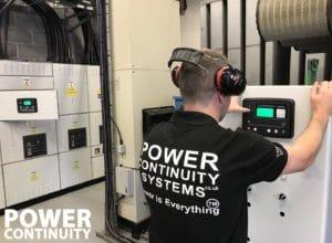 generator over voltage checks