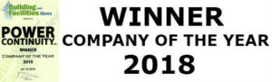 power continuity company of the year 2018