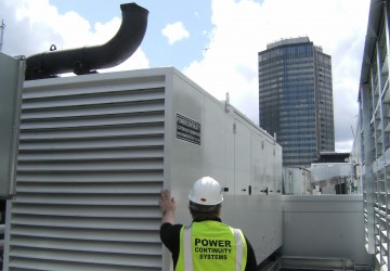 Roof top Generator with Power Continuity Engineer