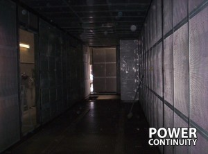 Diesel Generator Container internal view