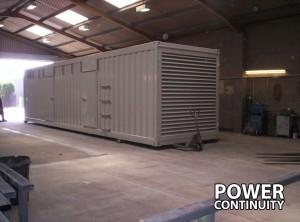 Diesel Generator Container Build
