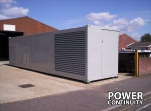 Diesel Generator Container