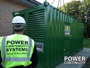 600kVA containerised generators