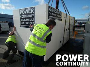 custom built generators 300kVA