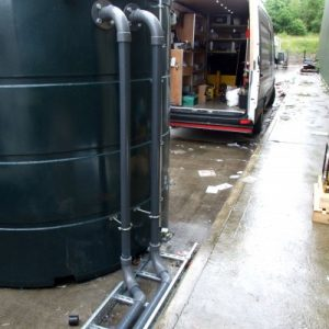 Data Centre Power Continuity Diesel Fuel tanks