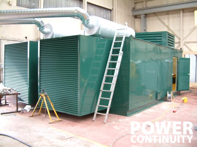 custom built generators 2000 kVA