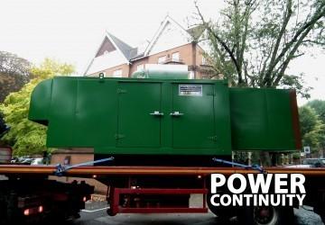 Silent Generators 500kVA
