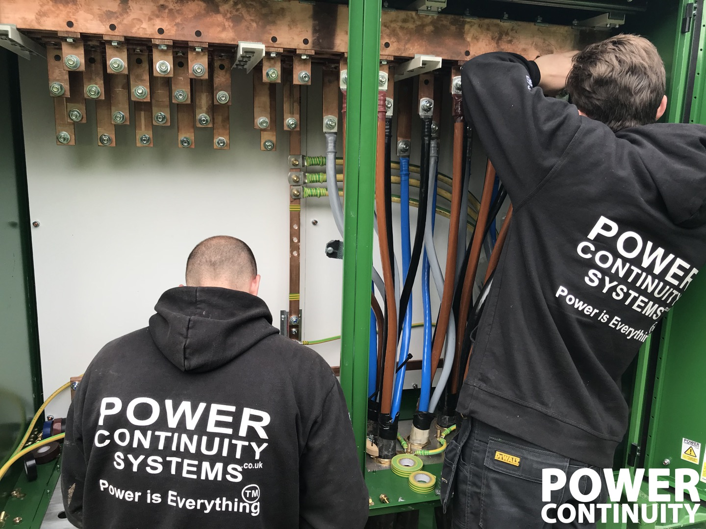 emergency power systems installed