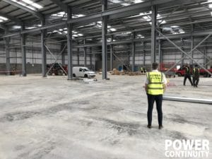 Manufacturing plant installation