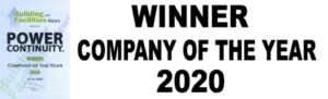 Power continuity Winner Company of the year 2020